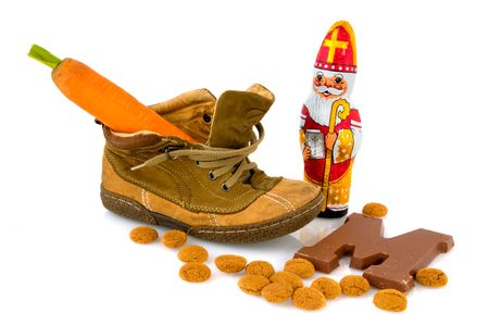 Traditional Sinterklaas in Holland Stock Photo - 4839209