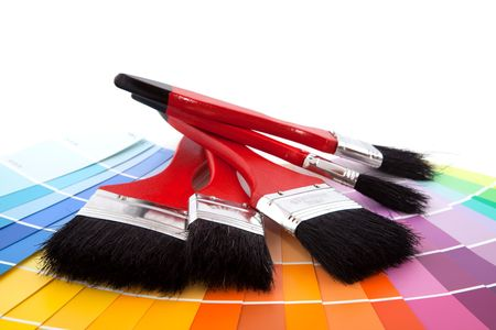 chromatic colour: painting with colors in spring