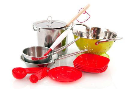 colander: kitchen pots and pans and colander