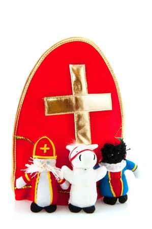 Mitre with cross from Sinterklaas with puppets Stock Photo - 5659957