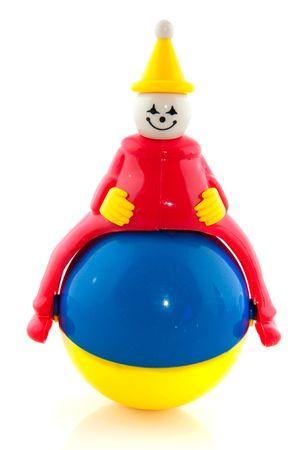 jouet b�b�: dr�le de b�b� jouet avec ballon et clown
