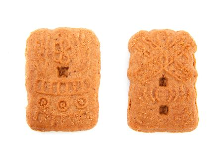 speculaas: Speculaas as traditional cookies for Sinterklaas in the Netherlands