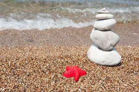 Spa and fun at the beach vacation photo