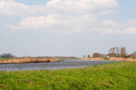 eempolder: Dutch nature river landscape with the Eem