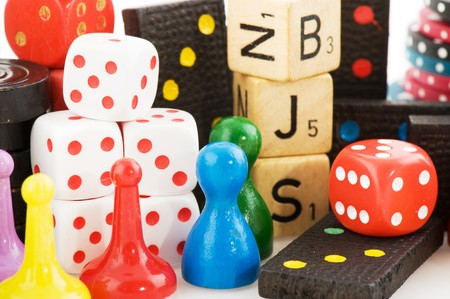 gambling stone: All attributes to play board games together