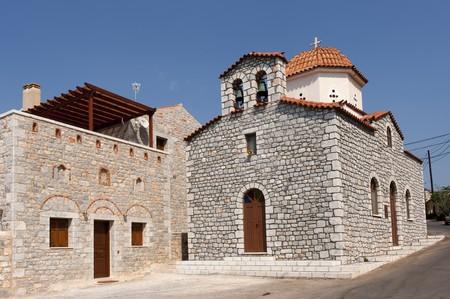 mani: Church in Greece Ithylo on Mani pensula