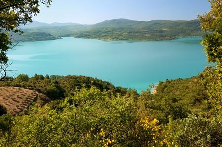 Lac de Saint Croix in the Provence VAR France photo