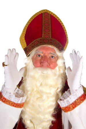 Dutch traditional Sinterklaas portrait in the studio Stock Photo - 8234041