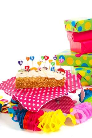 stillife: Stillife with all needs for a happy birthday