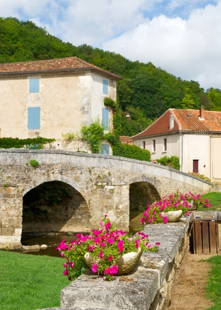 Typical French village Saint Jean de Cole Stock Photo - 11473085