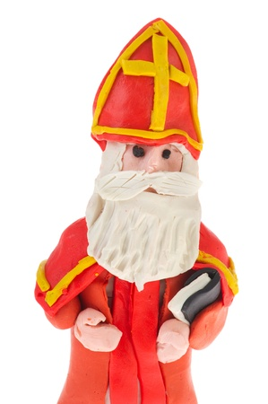 sinterklaas: Dutch Sinterklaas made of clay