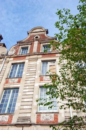 medioevo: I vecchi edifici risalenti al medioevo francese, a Arras