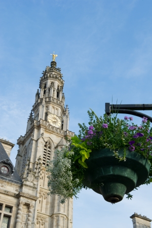 church Saint Vaast from the middle ages in French Arras photo