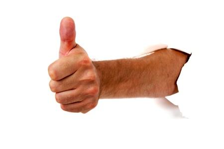 Thumbs up Stock Photo - 16096580