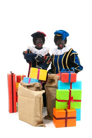 petes: Dutch characters as black petes for typical Sinterklaas holidays