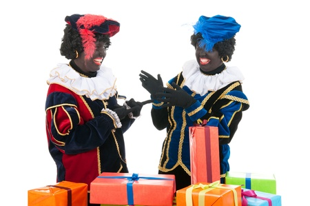 Dutch characters as black petes for typical Sinterklaas holidays Stock Photo - 15999026