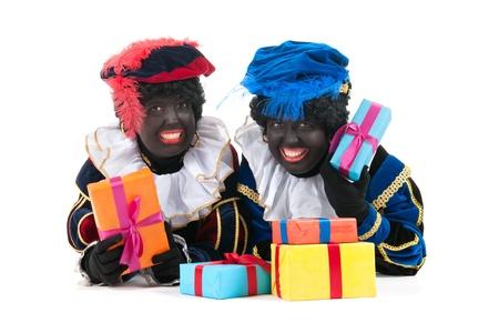 sinterklaas: Dutch Zeichen als schwarze petes f�r typische Sinterklaas Urlaub