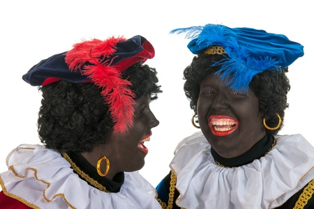 Dutch Black Petes with lots of fun Stock Photo - 16097124