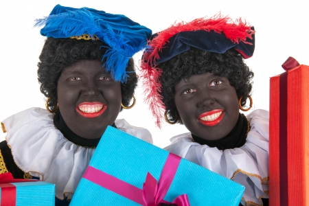 Dutch Black Petes for Sinterklaas holidays Stock Photo - 16303454