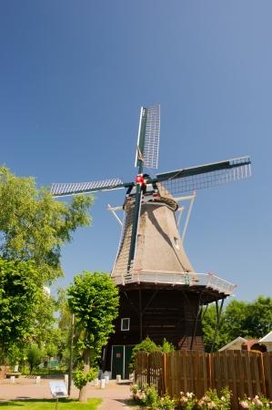 """groningen: Molen """", De Leeuw"""", in het Nederlands Zeerijp op provincie Groningen Stockfoto"""