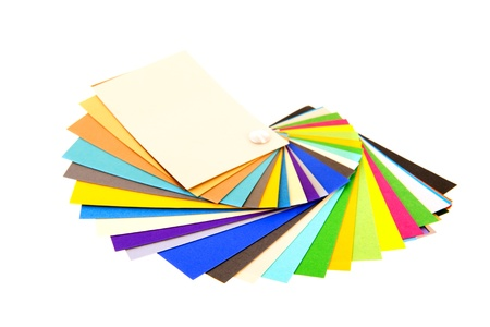 ral: Fresh color samples for decorating Stock Photo