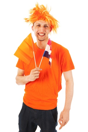 Supporter from the Dutch soccer club photo