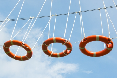 buoys: Climbing in the air with life buoys
