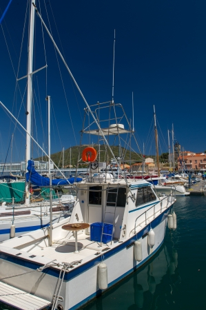 port vendres: Landscape with harbor of Port Vendres