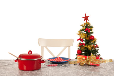 lonelyness: Christmas dinner for one person