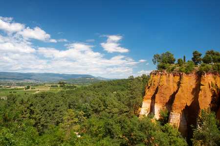 vaucluse: Ochre in French Vaucluse
