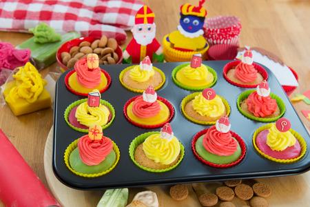 gingernuts: Selfmade Dutch Sinterklaas cupcakes