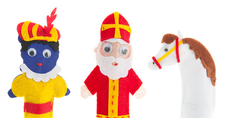 sinterklaas: Handmade puppets for Dutch Sinterklaas holidays