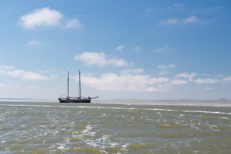 excursions: Clipper for excursions on Dutch wadden sea