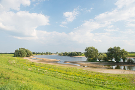 holland landscape: Landscape with river in Holland