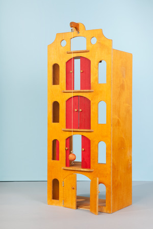 house ware: wooden toy warehouse