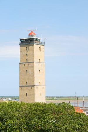 wadden: Lighthouse the Brandaris at Dutch wadden island Terschelling