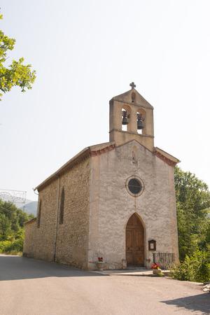 pas: Little church in St. Ferreol aux Trente pas