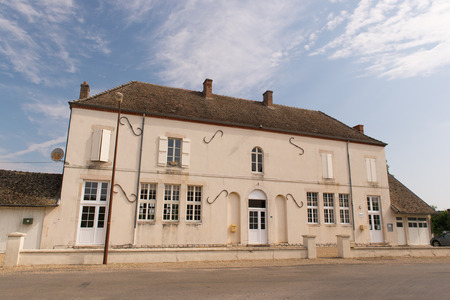 lays: Town hall in French village Lays sur le doubs