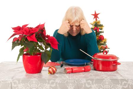 soledad: Soledad en la �poca de Navidad para una mujer mayor