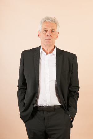 Formally Dressed Senior Business Man Stock Photo Picture And