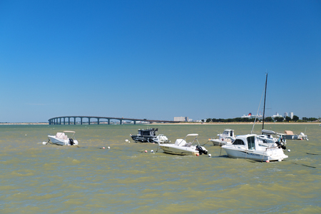 Bridge to mainland island Ile the Re