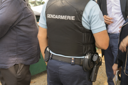 French police in France named gendarmerie