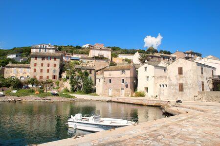 Village Porticciloro on French island Corsica