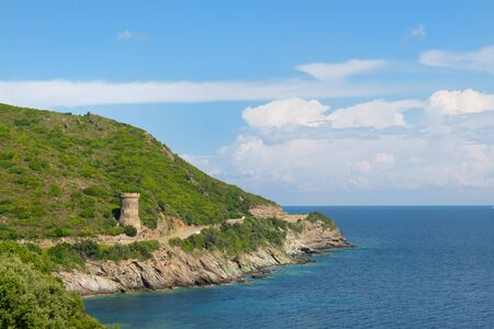Genoese towers in Corsica are a series of coastal defences constructed by the Republic of Genoa between 1530 and 1620
