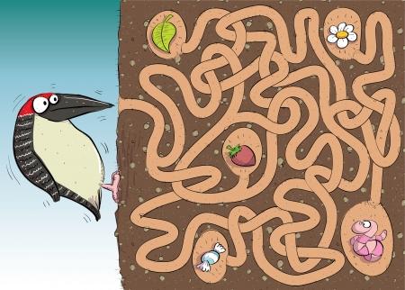 juego: Carpintero: Laberinto Juego con la soluci�n en la capa oculta