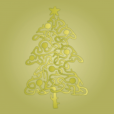 17111288-christmas-tree-shape-     Christmas Tree Shape With Star