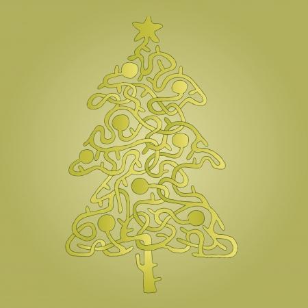 mind games: �rbol de Navidad Forma Maze Game ... Tarea: Encontrar el camino correcto desde el fondo a la estrella! ... La soluci�n est� en la capa oculta!