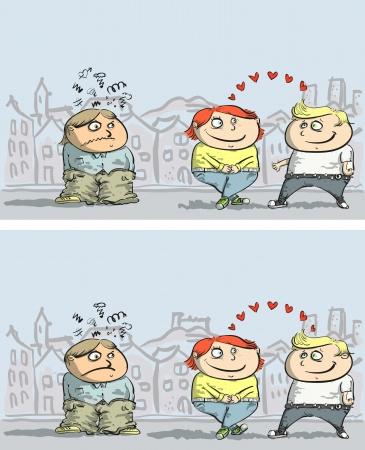 嫉妬: 非表示層内ソリューションで 10 の違いを見つける