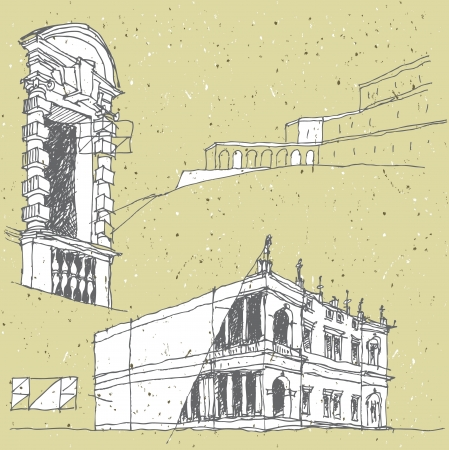 antic: Sketching Historical Architecture in Italy