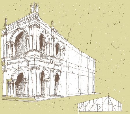 sketchy illustration: Sketching Historical Architecture in Italy